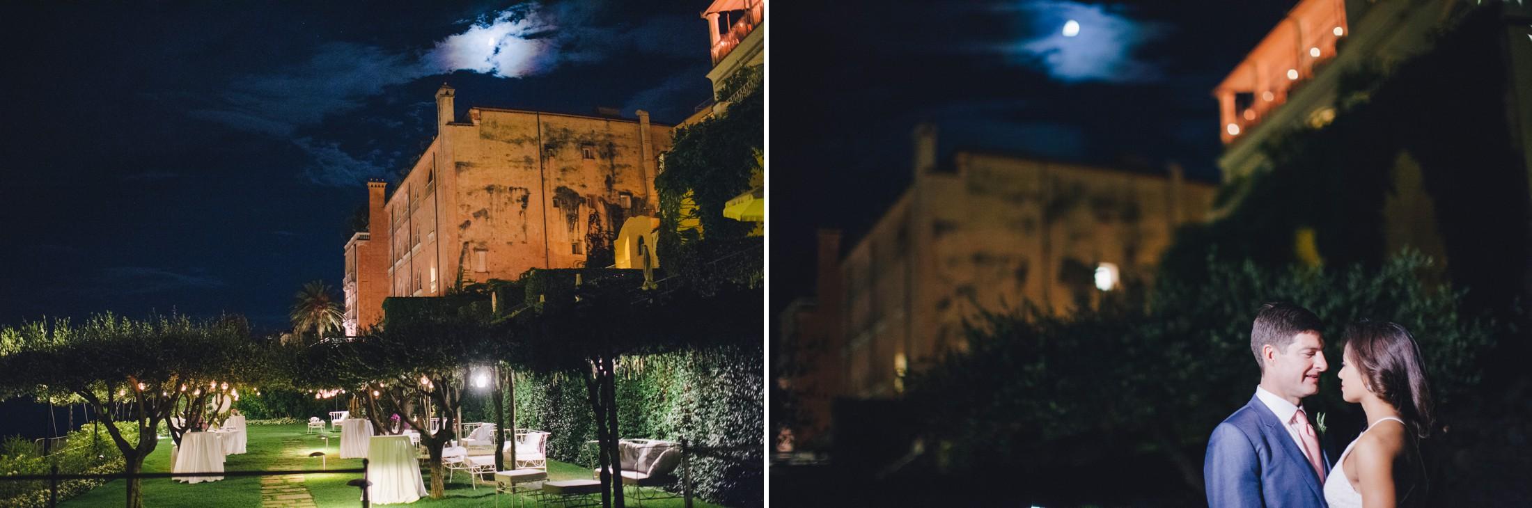 hotel caruso by night