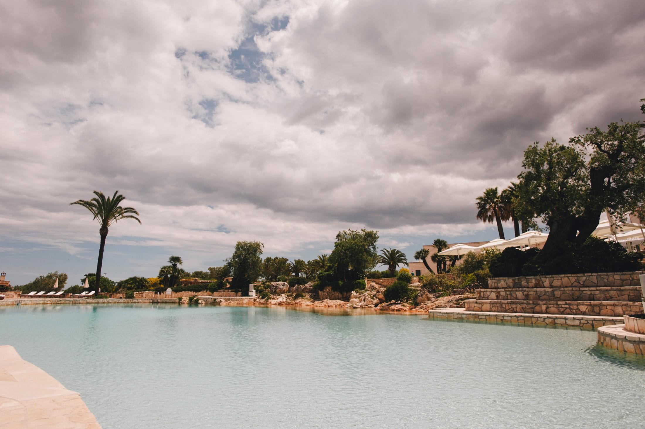 masseria san domenico pool