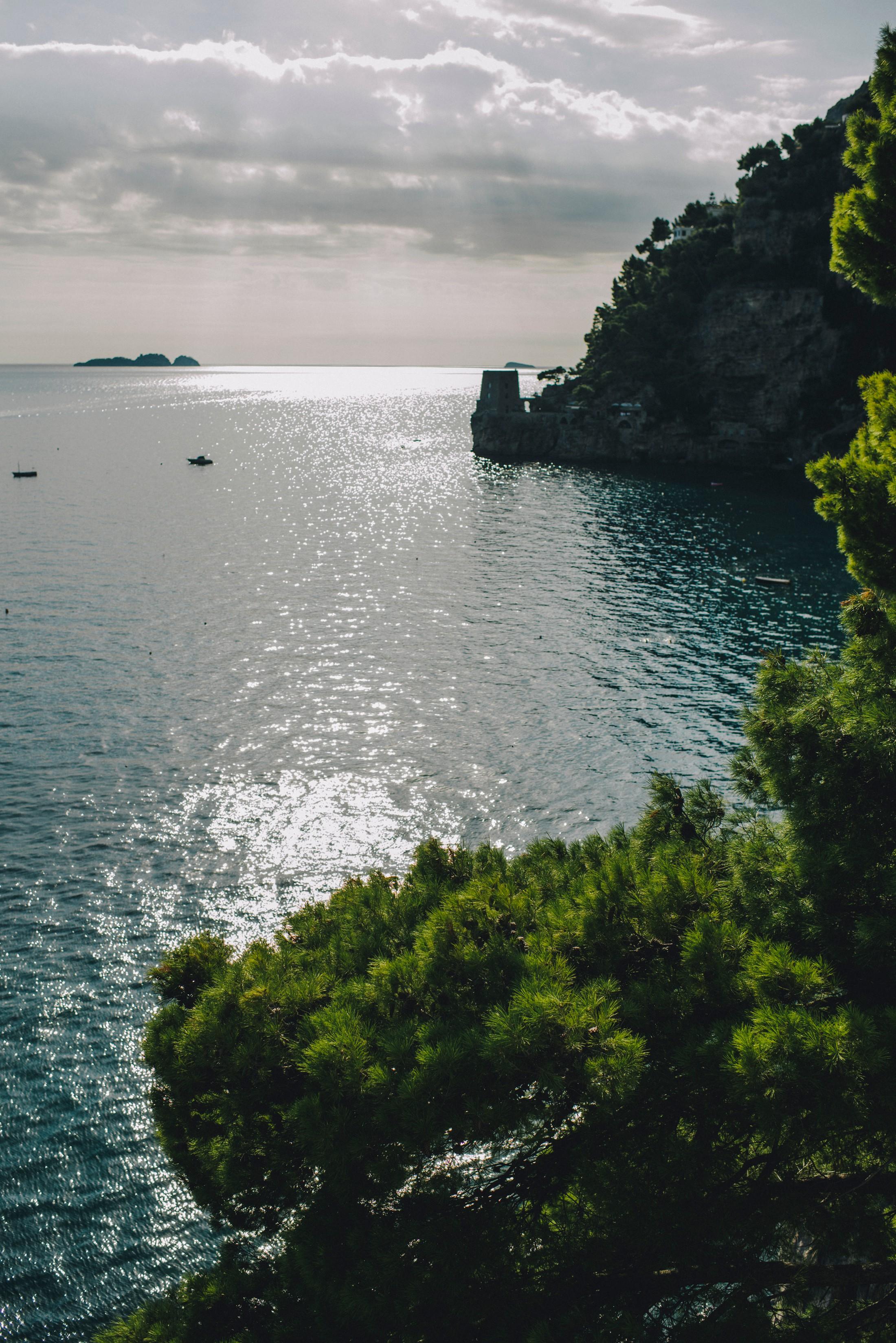 landscape positano coast