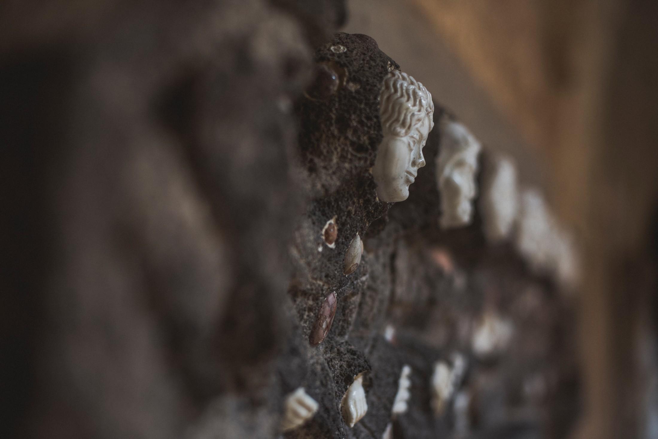 detail from villa cimbrone ravello