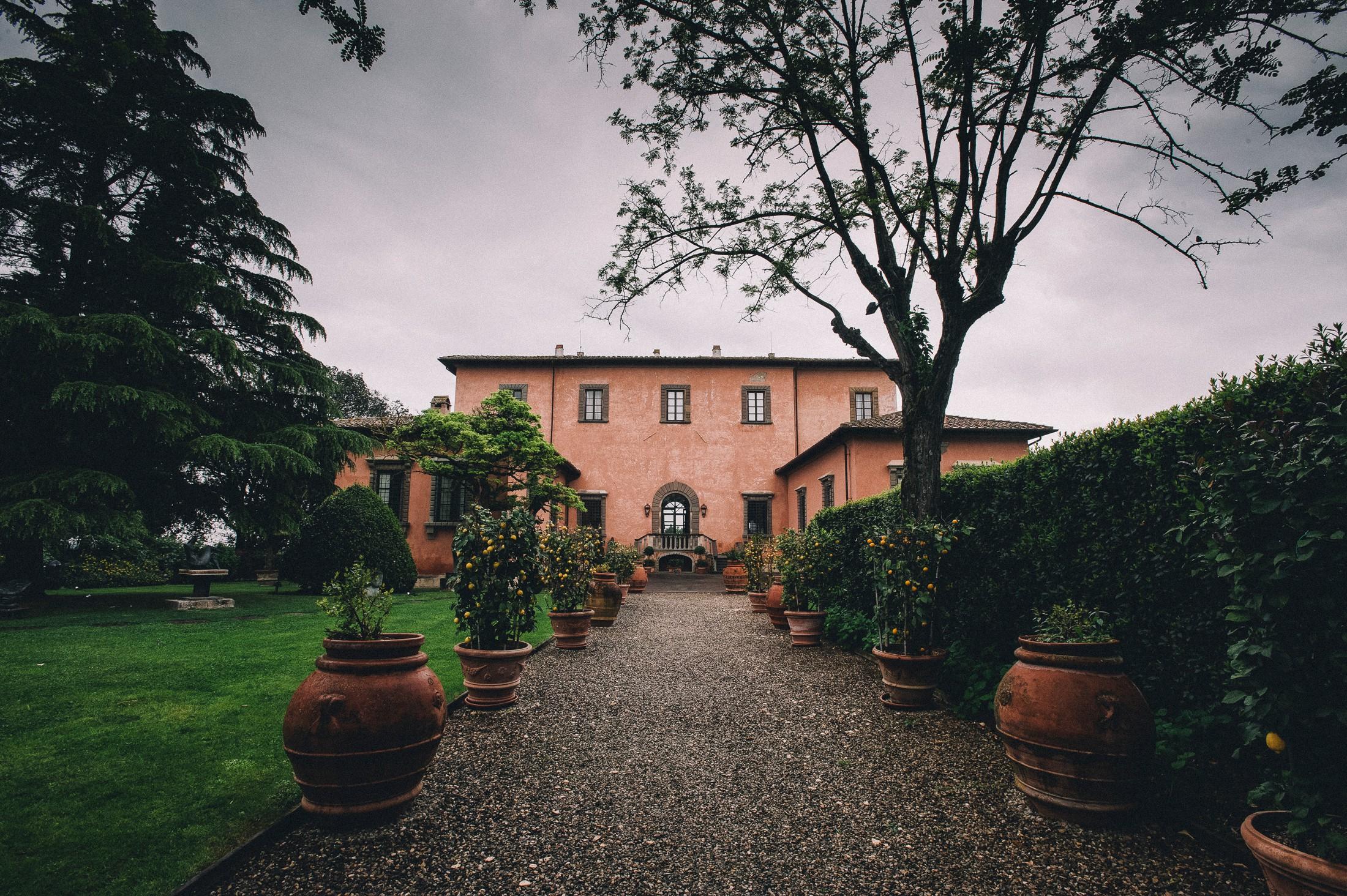 villa mangiacane a Firenze