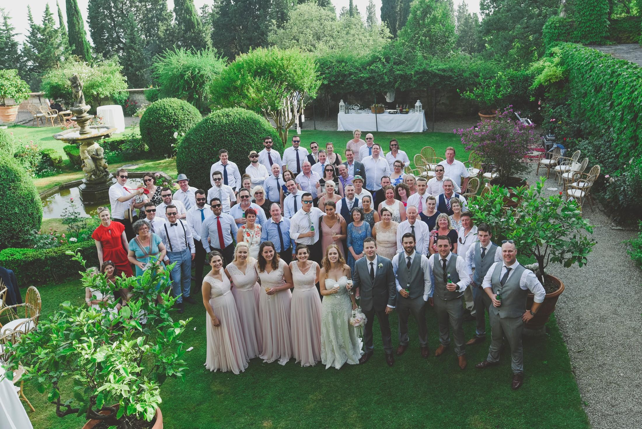 big family group