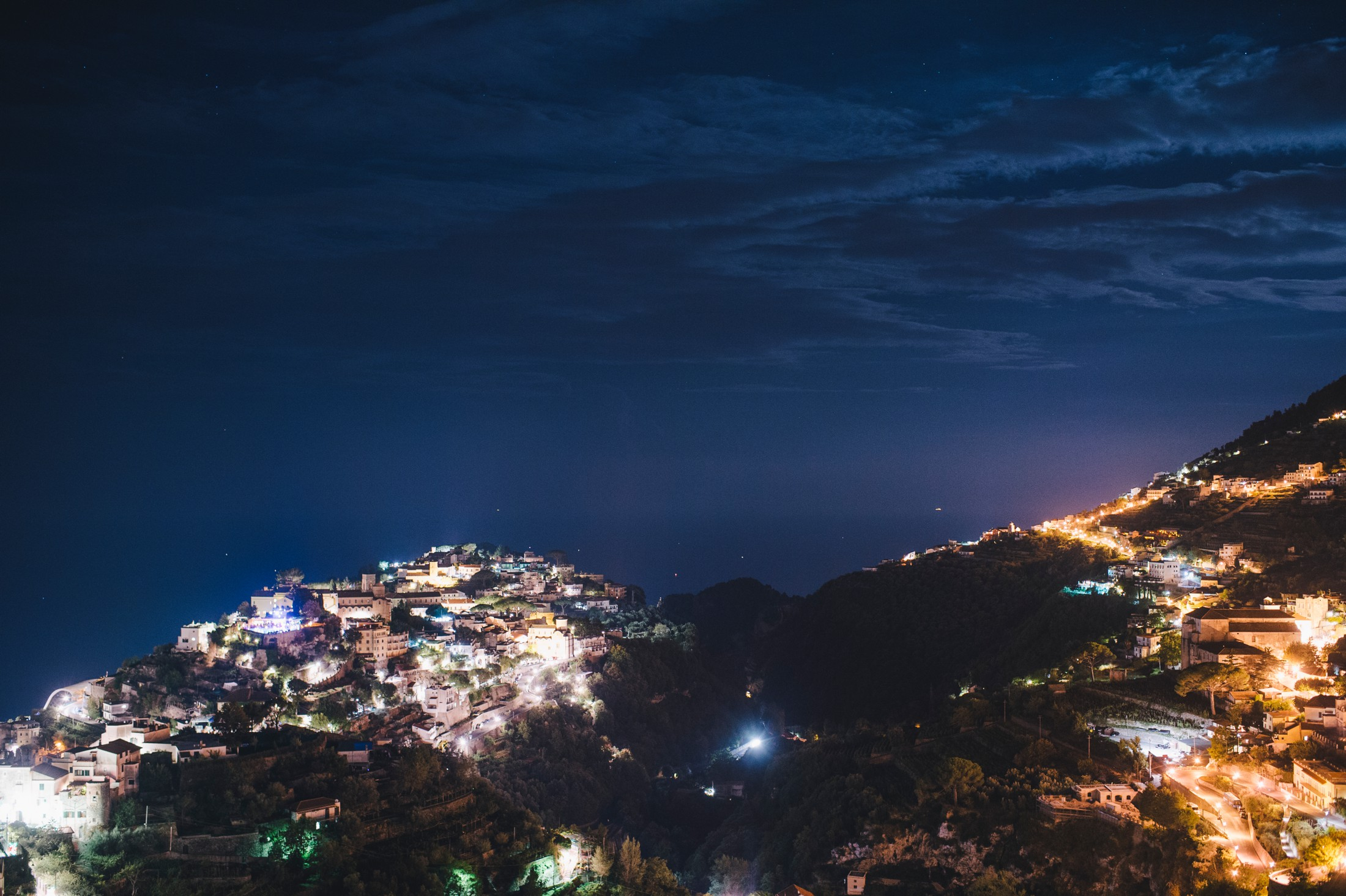 ravello by night