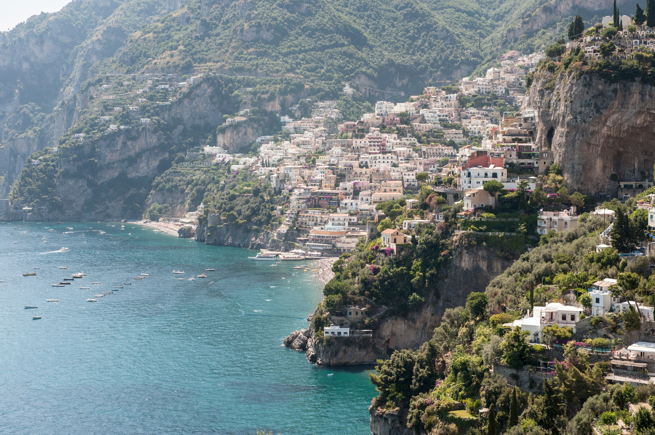 wedding in positano landscape