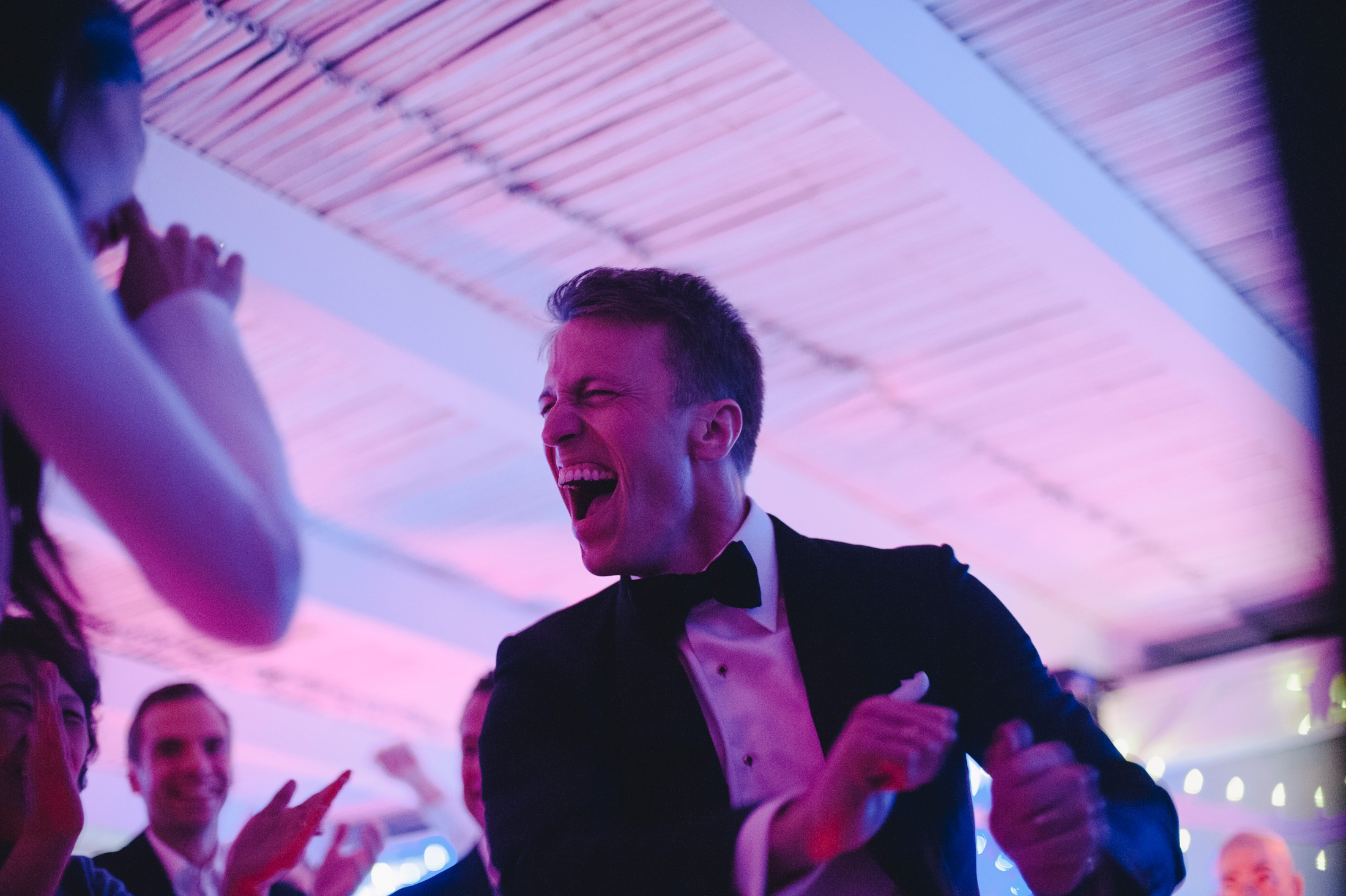the groom's dancing